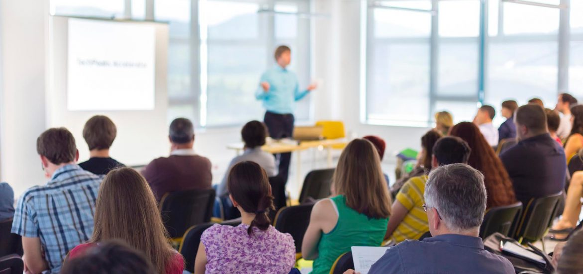 Two Public Speaking Models for Marketers - Educating Vs Selling From the Stage